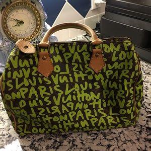 f75a2e58dfb Louis Vuitton Bags - Authentic Louis Vuitton Graffiti speedy 30